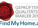 Das FindMyHome.at Qualitätssiegel 2012