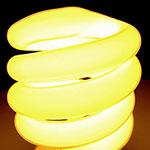 Energiesparlampe: Zuhause beleuchten