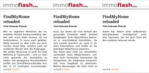 FindMyHome.at Reloaded – Artikel im Immobilien-Magazin ImmoFlash_Fortsetzung1