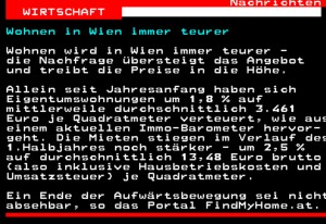 FindMyHome.at ImmoBarometer im ORF Teletext_03-07-2012