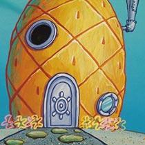 SpongeBob-Ananas-Immobilie-Zuhause
