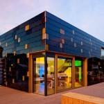 Ein modernes Solarhaus