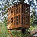 Edles Baumhaus mehrstöckig
