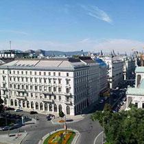 Aussicht über Wiener Innenstadt