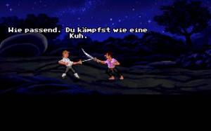 Fechtduell im Spiel Monkey Island