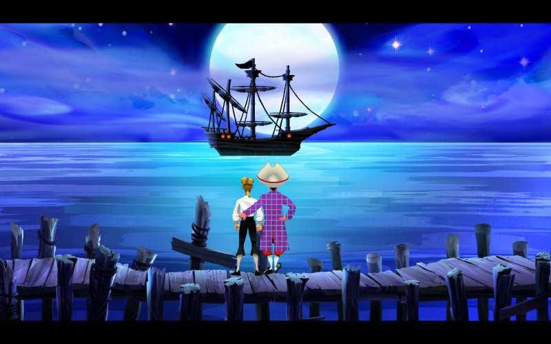 Verkäufer Stan mit Schiff Sea Monkey