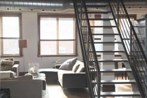 Eine Wohnung wird über Airbnb vermietet