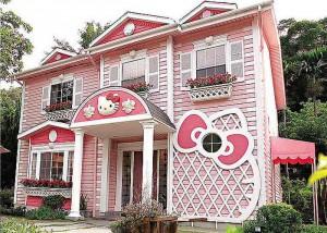 Wie schön: Ein Hello Kitty Haus
