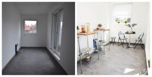 Home Staging Beispiel für eine Küche