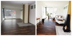 Home Staging Beispiel für ein Wohnzimmer