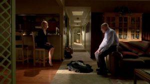 Walter und Skyler White in ihrem Haus