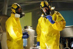 Walter White und Jesse Pinkman im Labor