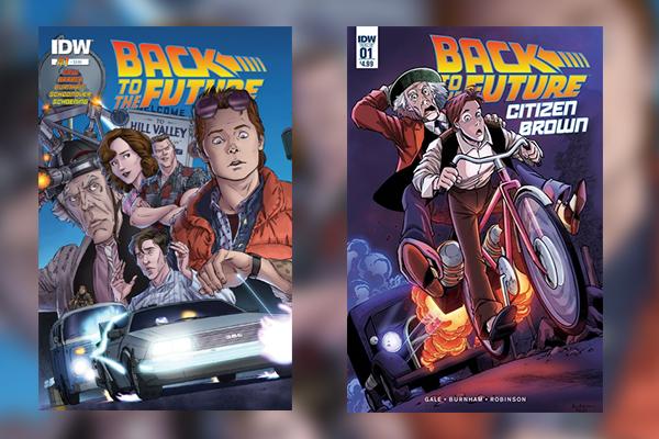 Die aktuellen Comic-Reihen von Zurück in die Zukunft