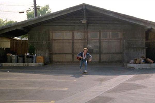 Die Garage, die in Zukunft zum Haupthaus wurde