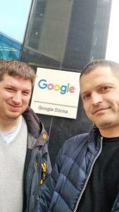 Zwei Programmierer von FindMyHome.at bei Google in Dublin
