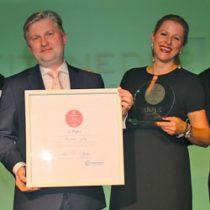 Überreichung des Awards für den FindMyHome.at Qualitätsmakler auf Basis der User-Bewertungen