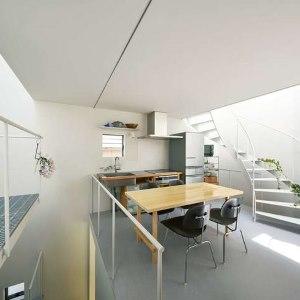 Japanische Architektur nutzt kleine Räume perfekt aus
