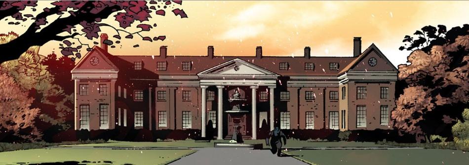 Das Anwesen als Schule und Hauptquartier der X-Men