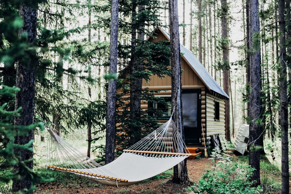 Glamping Wald