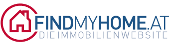 Logo FindMyHome.at Immobilien-Website
