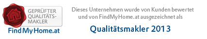 FindMyHome.at Qualitaetsmakler 2013