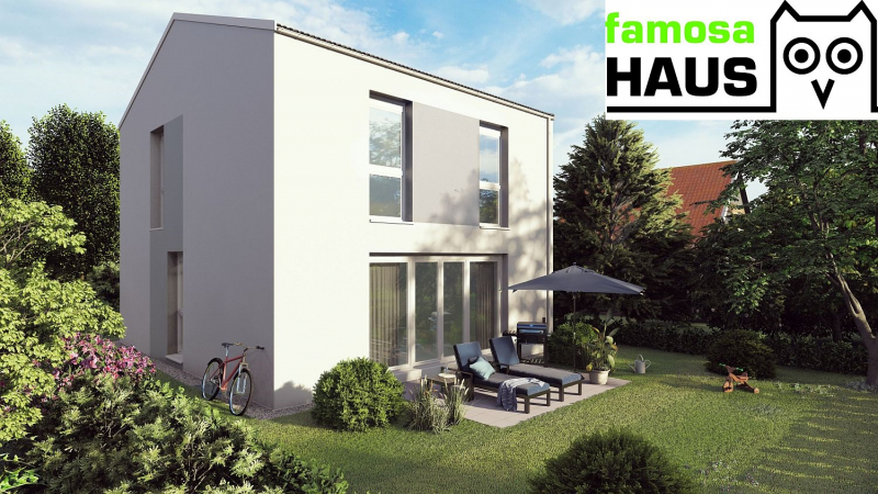 Mehr Platz und Freude im neuen Einfamilienhaus mit 4 Zimmern, Keller, Terrasse und Eigengarten.