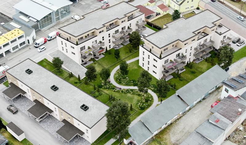 PENTHOUSE - Wohnen im Grünen (Neubau) mit großer Terrasse  Top 15 - im sofortigen Eigentum /  / 2640Gloggnitz / Bild 0