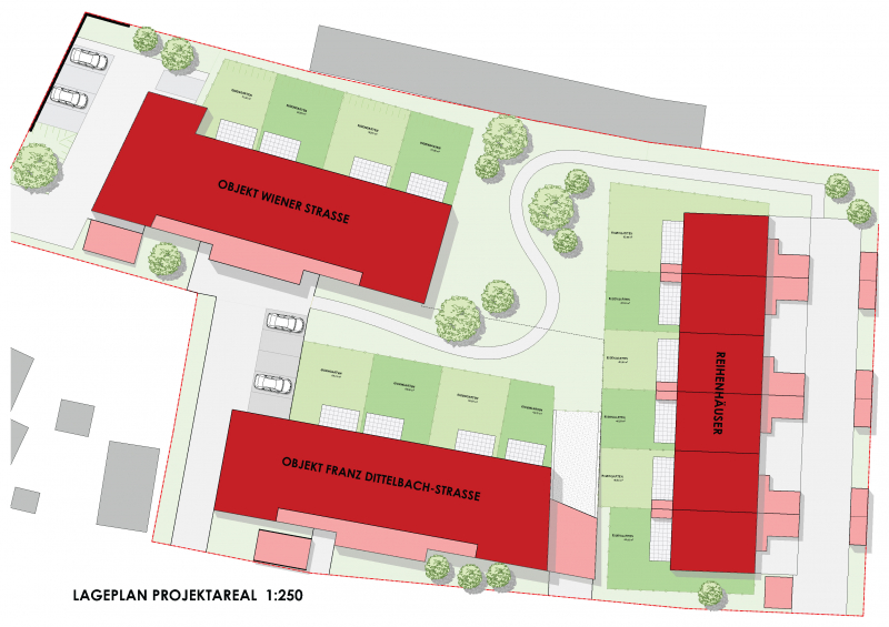 PENTHOUSE - Wohnen im Grünen (Neubau) mit großer Terrasse  Top 15 - im sofortigen Eigentum /  / 2640Gloggnitz / Bild 4