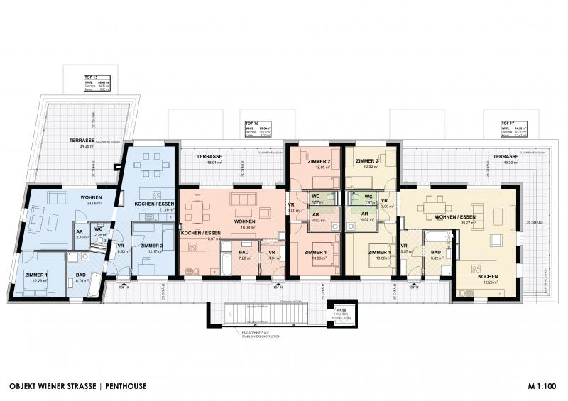 PENTHOUSE - Wohnen im Grünen (Neubau) mit großer Terrasse  Top 15 - im sofortigen Eigentum /  / 2640Gloggnitz / Bild 7
