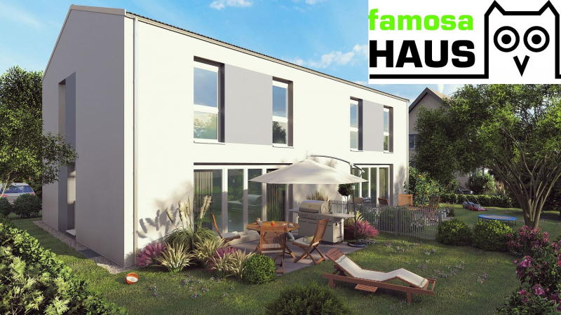 Mehr Platz und Freiheit im eigenen Ziegelmassivhaus mit 4 Zimmern, Keller, Terrasse und Eigengarten.