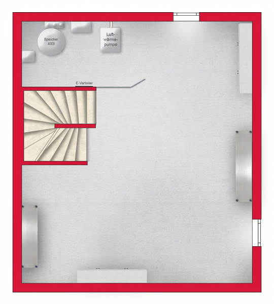 Ziegelmassives Einzelhaus mit Traumgarten: 4 Zimmer, Keller, Terrasse und Eigengrund. /  / 3034Maria Anzbach / Bild 7