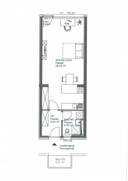 *Neubau-Erstbezug* helle, ruhige 1-Zimmerwohnung am Pezzlpark! /  / 1170Wien / Bild 8