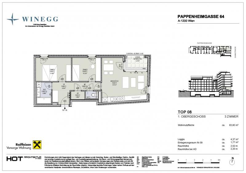 Vorsorgewohnung in Top Lage Brigittenau /  / 1200Wien / Bild 2