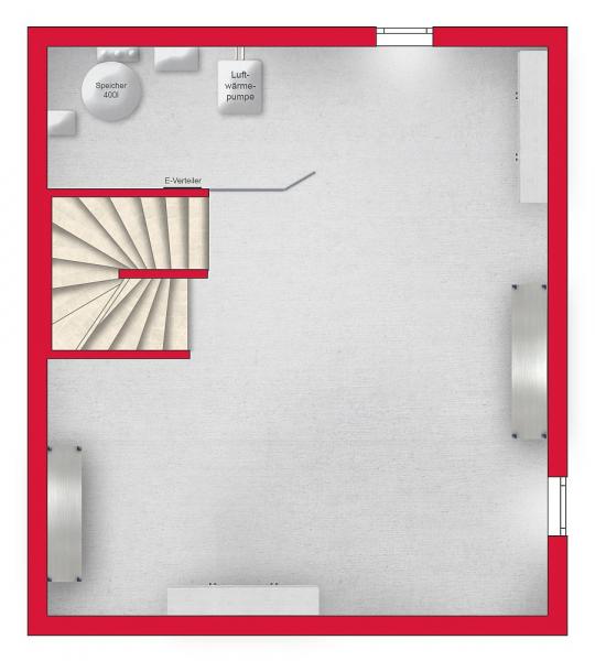 Provisionsfreies Einzelhaus mit 4 Zimmern, Vollunterkellerung und Eigengarten samt Parkplatz /  / 2460Bruck an der Leitha / Bild 7