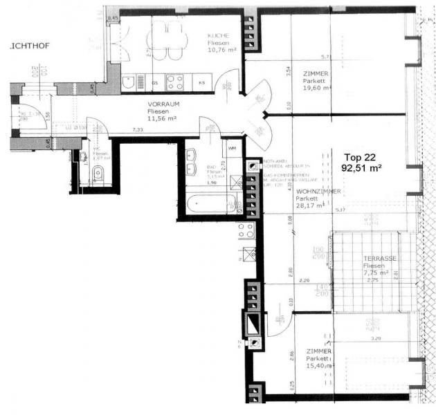 Elegante DG-Wohnung mit TERRASSE /  / 1070Wien / Bild 1