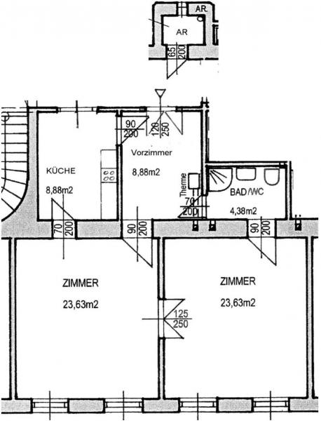 Charmante 2-Zimmerwohnung /  / 1190Wien / Bild 8