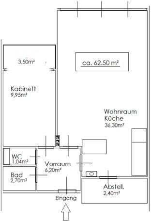 Komfortable 2 Zimmer Wohnung Nähe Thaliastr., UNBEFRISTET! /  / 1160Wien / Bild 6
