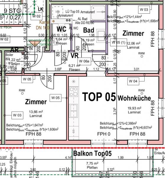 VORSORGEWOHNUNG im Tullnerfeld - moderne 3-Zimmer-Neubauwohnung Nähe Tullnerfelder Bahnhof /  / 3451Michelhausen / Bild 9