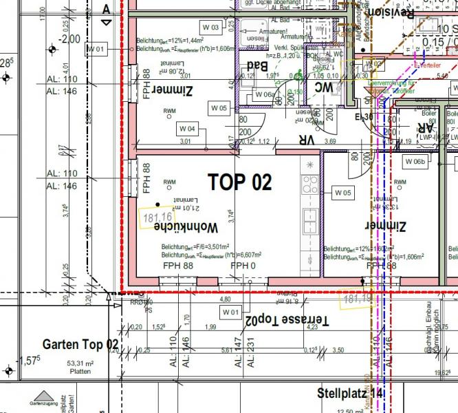 Wohnen im Grünen mit perfekter Anbindung an die Stadt- leistbare 3-Zimmer-Garten-Wohnung in Pixendorf (A02) /  / 3441Pixendorf / Bild 8