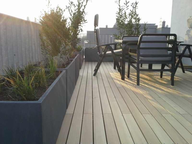 Berühmt Grün leben in der Stadt: Die perfekte Dachterrasse #CB_92