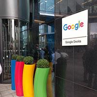 Eingang Google HQ Dublin